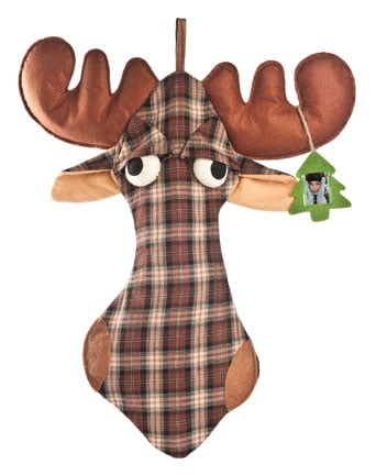 Christmas Gift Stockings - Moose Christmas Stocking - 6382 | Leanin' Tree