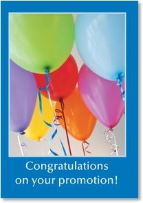 Job Promotion Congratulations Card - Promotion Celebration | Masterfile Corporation | 6_2000269-P | Leanin' Tree