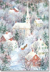 Christmas Card - A Christmas prayer for God's loving care | Richard Barth | 70140 | Leanin' Tree
