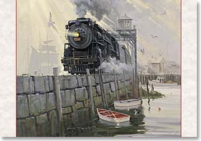 Christmas Card - May Christmas peace and joy be with you  | David Tutwiler | 70646 | Leanin' Tree