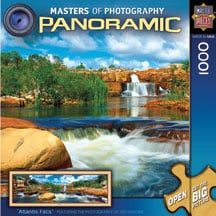 Puzzle - Atlantis Falls Panoramic Puzzle - 709144 | Leanin' Tree