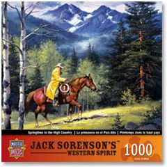 Puzzle - Springtime In The High Country - 710044 | Leanin' Tree