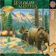 Puzzle - Sharing the High Country Puzzle - 710224 | Leanin' Tree