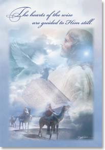 Christmas Card - May Christ's Light Shine; John 8:12 - 71146 | Leanin' Tree