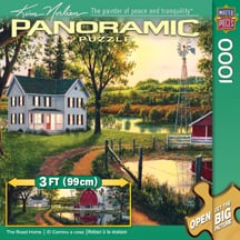 Puzzle - The Road Home Puzzle - 712554 | Leanin' Tree