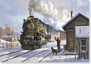 Christmas Card - We're sending you good cheer... | David Tutwiler | 71569 | Leanin' Tree