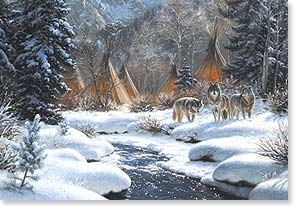 Christmas Card - Native American | Great Spirit Blessings | Mark Keathley | 71724 | Leanin' Tree