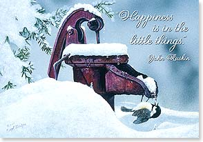 Christmas Card - Cherish Every Little Joy - 71939 | Leanin' Tree