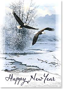 New Year's Day Card - May your new year be filled with peace. | Persis Clayton Weirs | 72541 | Leanin' Tree
