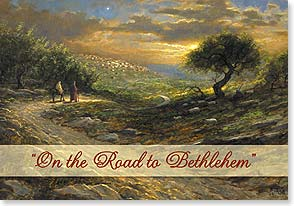 Christmas Card - Road to Bethlehem | Jon McNaughton | 72787 | Leanin' Tree