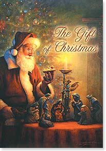 Christmas Card - Christmas Wonder and Joy; James 1:17 | Greg Olsen | 72990 | Leanin' Tree