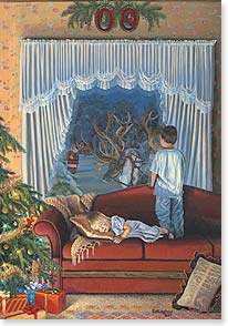 Christmas Card - The Christmas you've been dreaming of... | David Rottinghaus | 72995 | Leanin' Tree