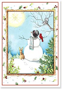 Christmas Card - May the Christmas start shine all year! | Tracy Flickinger | 72999 | Leanin' Tree