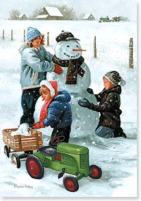Holiday Card - Friends, Fun, and Good Cheer | Charles Freitag | 73025 | Leanin' Tree