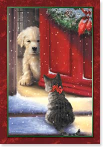 Holiday Card - May you discover warmth this holiday | Simon Treadwell | 73029 | Leanin' Tree