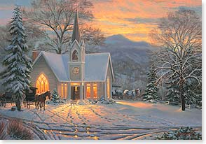 Christmas Card - A Richly Meaningful Holiday | Mark Keathley | 73049 | Leanin' Tree