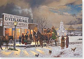 Christmas Card - Old Days, Old Times, Old Friends | Keith Brown | 73058 | Leanin' Tree