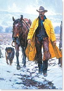 Christmas Card - Friends by your side, joy in your heart | Martin Grelle | 73061 | Leanin' Tree
