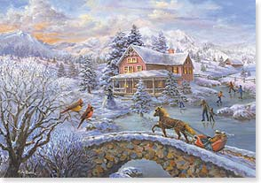Holiday Card - Wishing you a holiday filled with cheer! | Nicky Boehme | 73077 | Leanin' Tree