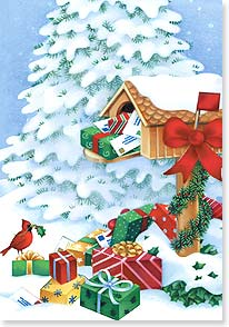 Christmas Card - May Christmas joys come to you! | Janet Amendola | 73086 | Leanin' Tree