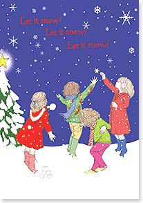 Christmas Card - The Joys of Christmas | Jayne Oliver | 73093 | Leanin' Tree