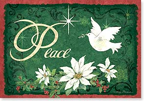 Christmas Card - May Peace Be Your Gift at Christmas | Betty Whiteaker | 73099 | Leanin' Tree
