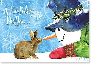 Holiday Card - A Season Filled With Joy | Barb Tourtillotte | 73102 | Leanin' Tree
