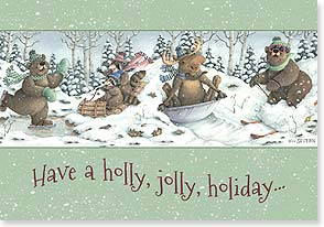 Holiday Card - That warms your heart in countless ways | Jeffrey Severn | 73108 | Leanin' Tree
