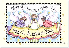 Christmas Card - May Heaven and Nature Sing | Karla Dornacher | 73119 | Leanin' Tree