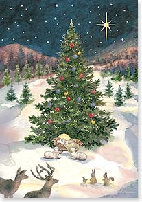 Christmas Card - May the Christmas Star Shine Down on You | Betty Whiteaker | 73123 | Leanin' Tree
