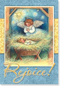 Christmas Card - Celebrate This Holy Birth; Psalm 72:19 | Susan Winget | 73124 | Leanin' Tree