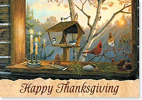 Thanksgiving Card - The Joy of Loved Ones and Friends - 73134 | Leanin' Tree