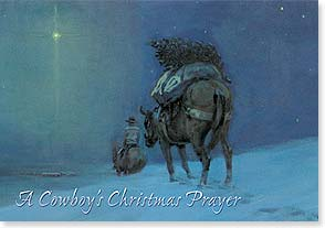 Christmas Card - Wishing You a Most Blessed Christmas - 73142 | Leanin' Tree