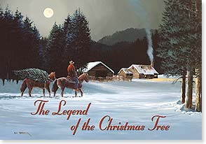 Christmas Card - Merry Christmas and Happy New Year | Bill Shaddix | 73144 | Leanin' Tree