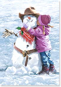 Christmas Card - Wishing you a heart-warming Christmas  | Richard Macneil | 73151 | Leanin' Tree