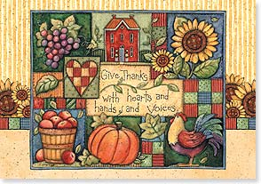 Thanksgiving Card - Life's Good Blessings, Great and Small | Susan Winget | 73170 | Leanin' Tree