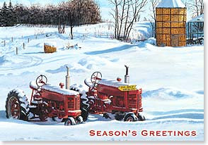 Holiday Card - May this be a very happy holiday for you! | Rollie Brandt | 73203 | Leanin' Tree