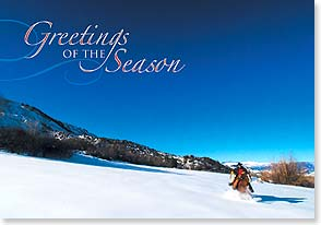 Holiday Card - Best wishes for a beautiful holiday season | Steve Thornton | 73222 | Leanin' Tree