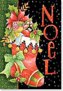 Christmas Card - Hope your holidays are full of Christmastime feelings | Joy Hall | 73266 | Leanin' Tree