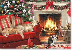 Christmas Card - Hope you settle in for the coziest Christmas ever | Richard Macneil | 73277 | Leanin' Tree