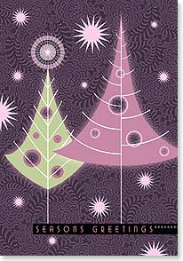 Holiday Card - Best wishes for a joyful holiday and bright new year | Paper D'Art | 73294 | Leanin' Tree