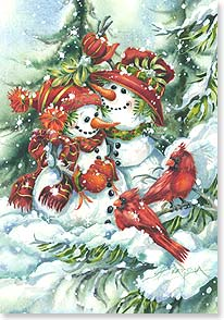 Holiday Card - Wishing you every good things the season can bring | Jody Bergsma | 73368 | Leanin' Tree