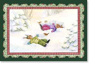 Christmas Card - Wishing you moments of merriment | Susan Wheeler | 73369 | Leanin' Tree
