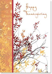 Thanksgiving Card - Wishing you the spirit of Thanksgiving | Erin Clark | 73381 | Leanin' Tree