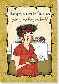 Thanksgiving Card - Like we need an excuse to eat pie. | Leslie Moak Murray | 73385 | Leanin' Tree