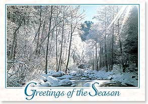Christmas Card - May every moment of your season have its own beauty | Josiah Davidson | 73392 | Leanin' Tree