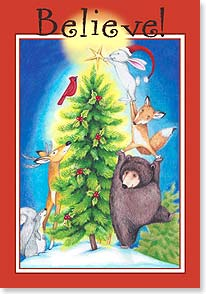 Christmas Card - May the magic of Christmas light up your holidays | Tracy Flickinger | 73426 | Leanin' Tree