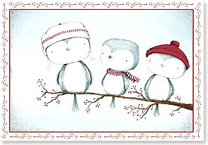 Holiday Card - Friends by your side and joy in your heart. | Stacey Yacula | 73443 | Leanin' Tree
