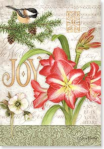Christmas Card - A season of comfort and joy... | Jane Shasky | 73462 | Leanin' Tree