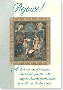 Christmas Card - The miracle of Christmas w/ 2 Corinthians 9:15 | Liz Goodrick Dillon | 73620 | Leanin' Tree